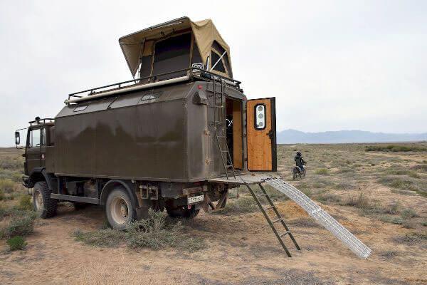 Автодом на базе грузовика Iveco